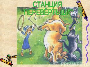 "СТАНЦИЯ""ПЕРЕВЁРТЫШИ"""