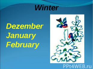 WinterDezemberJanuaryFebruary