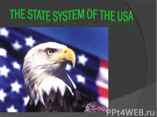 The state system of the USA