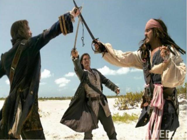 Скрытая сцена После титров идёт короткая сцена, в которой действие на острове дикарей-пелегостов. Во главе пелегостов сидит собака с костью, которая осталась на острове, когда Джек и его команда уплывают на корабле.