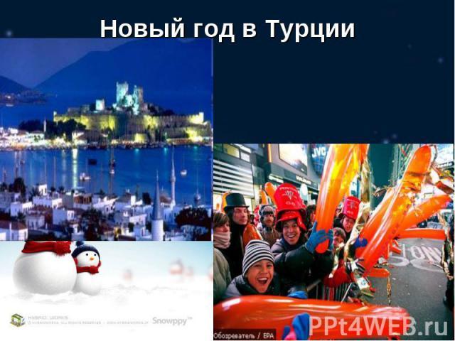 Новый год в Турции