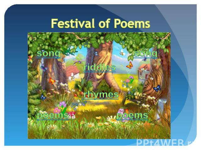Festival of Poems