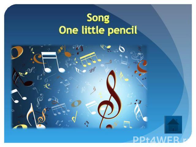 SongOne little pencil