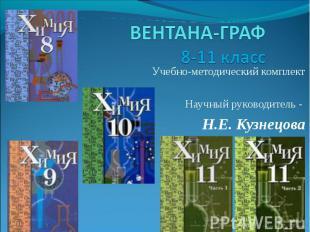 ВЕНТАНА-ГРАФ8-11 класс Учебно-методический комплектНаучный руководитель - Н.Е. К