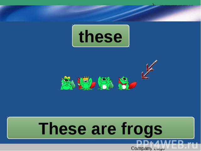 theseThese are frogs