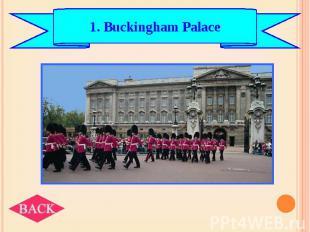 1. Buckingham Palace