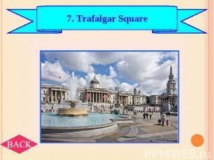 7. Trafalgar Square