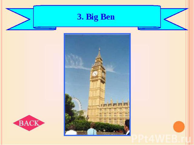 3. Big Ben