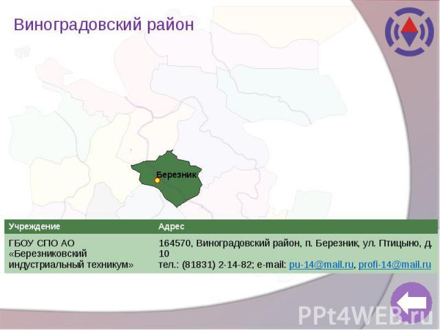 Виноградовский район