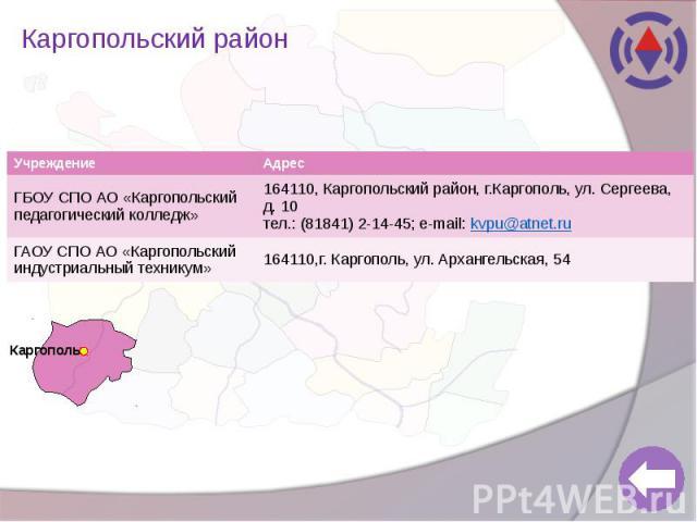 Каргопольский район