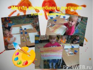 Метод волшебного рисунка (свеча + акварель) Метод волшебного рисунка