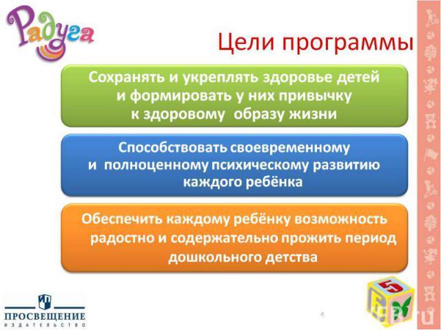 Цели программы