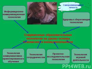 Современные образовательные технологии на уроках основы безопасности жизнедеятел