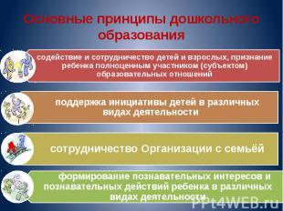 Основные принципы дошкольного образования