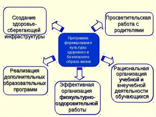 Программа формирования культуры здорового и безопасного образа жизни