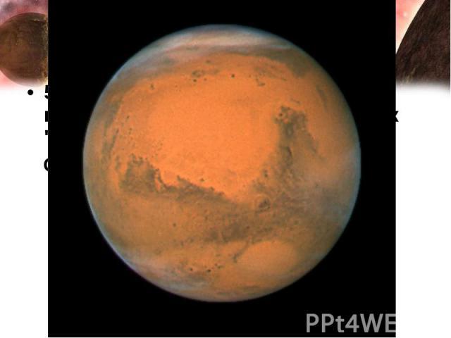 5. У какой планеты есть спутники, названия которых переводятся как