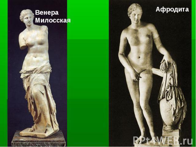 Венера МилосскаяАфродита