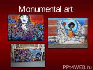 Monumental art