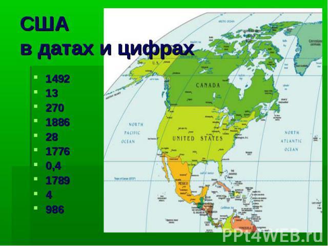 США в датах и цифрах 14921327018862817760,417894986