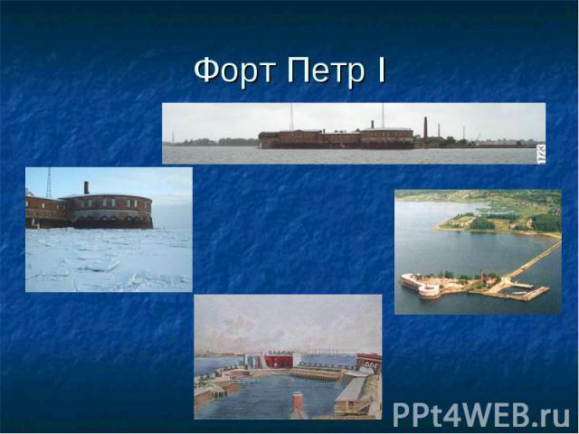 Форт Петр I