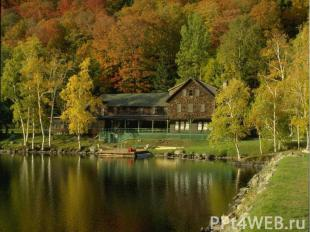 К. Паустовский писал: «Осень проходит мгновенно и оставляет впечатление промельк