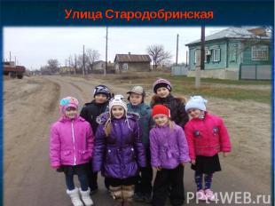 Улица Стародобринская