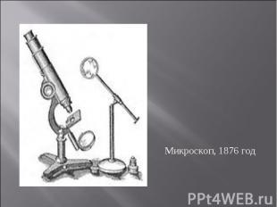 Микроскоп, 1876 год
