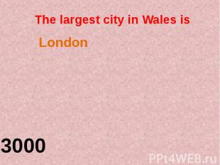 The largest city in Wales is