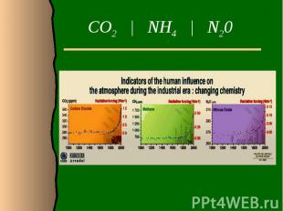 CO2 | NH4 | N20