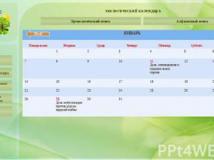 экологический календарь День рождения Ассоциации заповедников и национальных пар