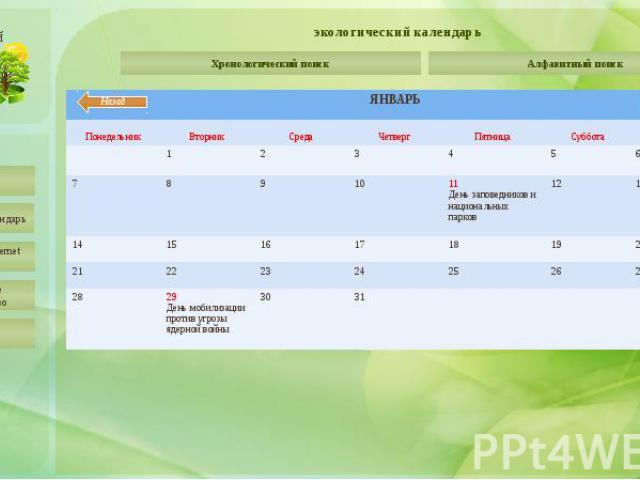 экологический календарь День рождения Ассоциации заповедников и национальных парков Северо-Запада России