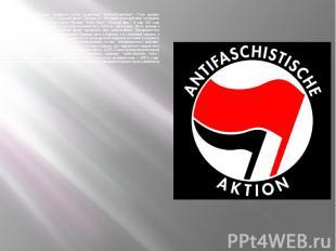 """""""Антифашистское действие"""" являвшееся частью организации """"Rotfront"""
