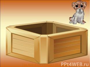 Где прячется собака? (В ящике)