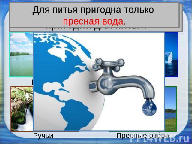 Вся ли вода на Земле пригодна для питья?