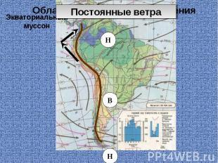 Области атмосферного давления Экваториальный муссон
