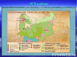 ЭГП района