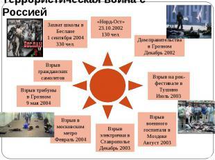 Террористическая война с Россией