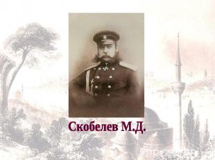 Скобелев М.Д.