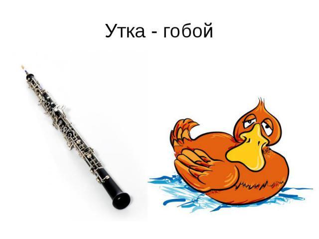 Утка - гобой