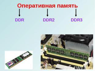 DDR DDR2 DDR3 DDR DDR2 DDR3
