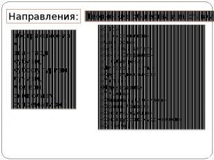 Направления: абстракционизм, авангард, кубизм, кубофутуризм, лучизм, модерн, сим