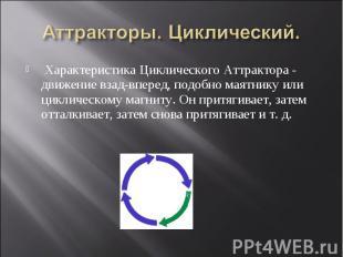 Характеристика Циклического Аттрактора - движение взад-вперед, подобно маятнику