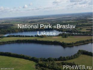 National Park «Braslav Lakes»
