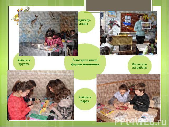 Альтернативні форми навчання