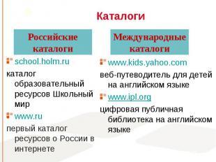 school.holm.ru school.holm.ru каталог образовательный ресурсов Школьный мир www.