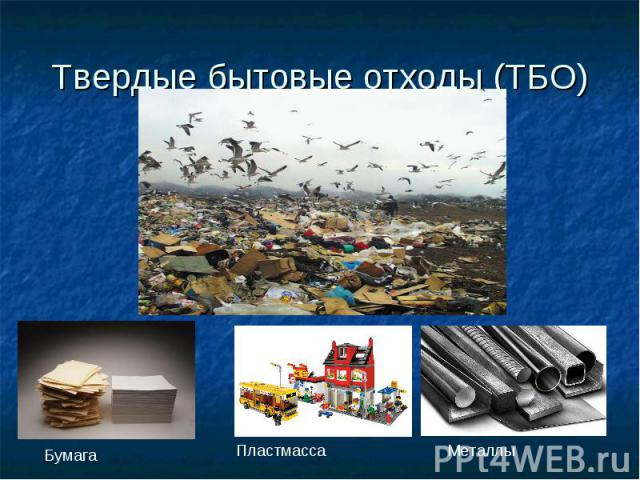 Твердые бытовые отходы (ТБО)