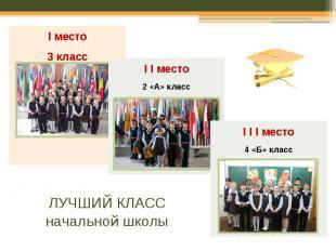 ЛУЧШИЙ КЛАСС начальной школы