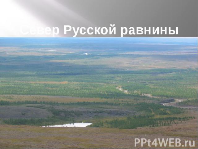 Север Русской равнины