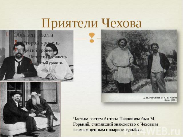 Приятели Чехова