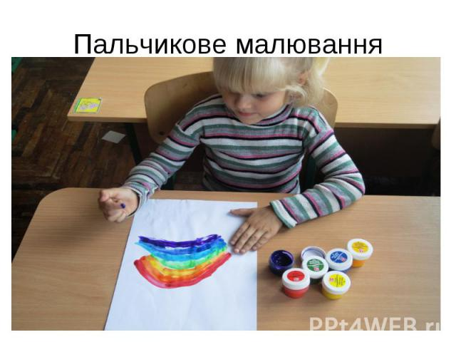 Пальчикове малювання